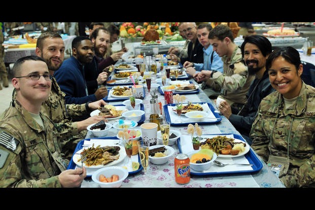 Image result for military dining facility bagram