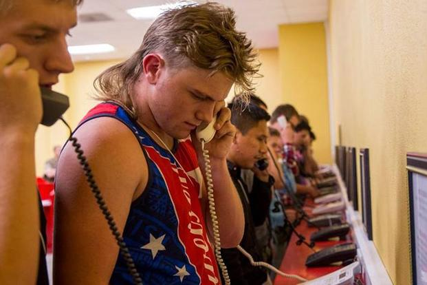 A Mullet-Wearing Marine Recruit Showed Up to Boot Camp Ready