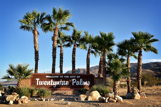 Welcome to the City of Twentynine Palms (Photo: Glenn Francis/Pacific Pro Digital)
