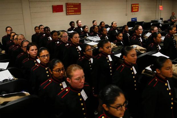 Female Marine Recruits Get Unisex Dress Coat 5 Years After First