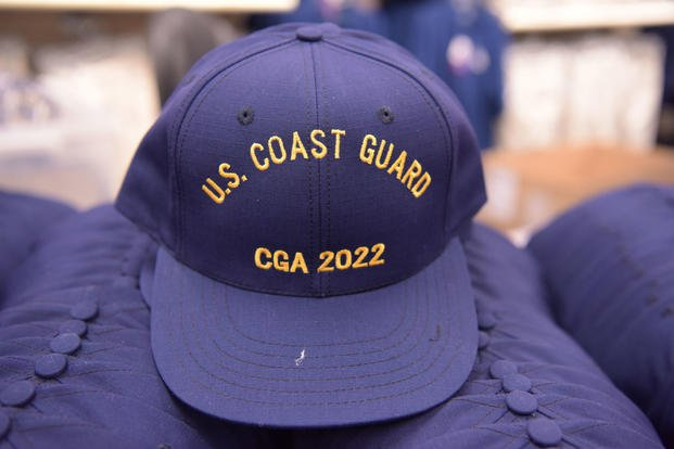 Coast Guard Academy Class of 2022 participates in Day One, the start of Swab Summer and the beginning of their 200-week journey to becoming an officer at the Academy, July 2, 2018. (U.S. Coast Guard photo/Diana Sherbs)