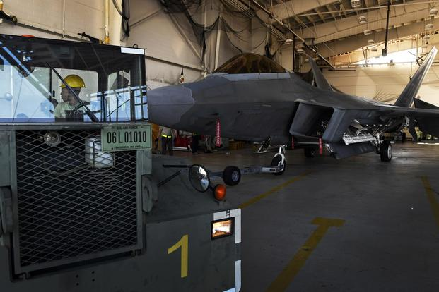 All F-22s Have Now Left Tyndall, Air Force Secretary Says