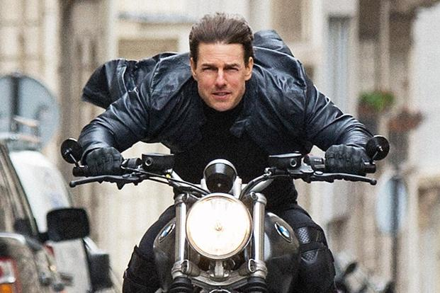 How Tom Cruise Filmed That Crazy Cycle Chase In Mission Impossible