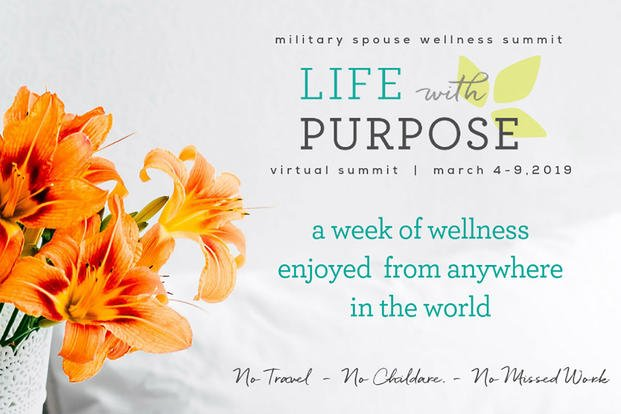 Military Spouse Wellness Summit 2019 Graphic