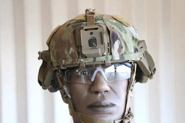 Army S New Helmet Offers Greater Protection Rails For