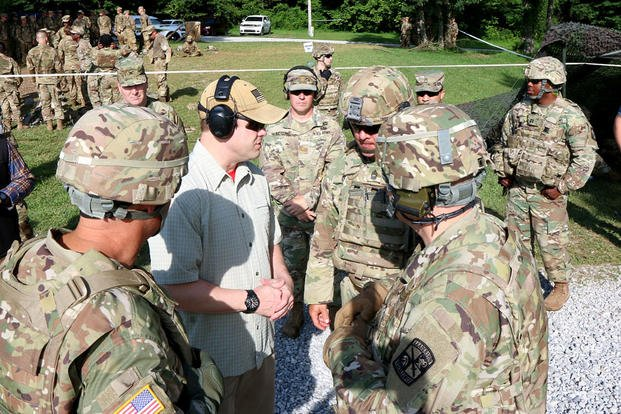 Former Ranger Ryan McCarthy Hopes to Lead Army Through Human