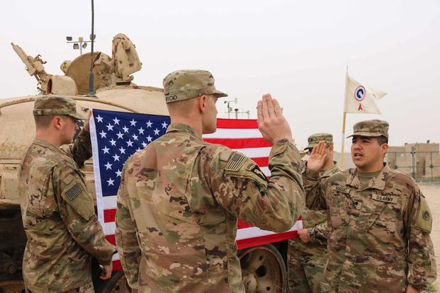 Army Rolls Out New Reenlistment Bonus Worth Up to $81,000