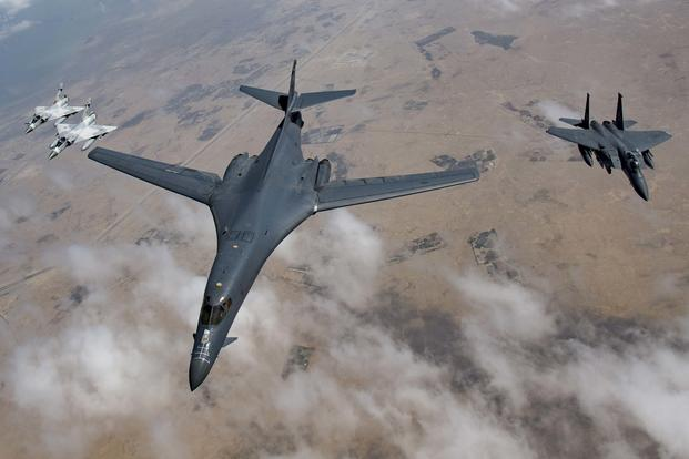 Only a Handful of the Air Force's B-1 Bombers Are Ready to Deploy