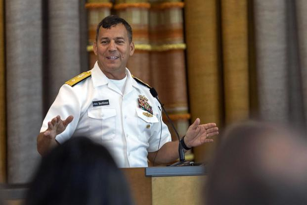 Navy Rear Admiral Removed from Job Over Inappropriate