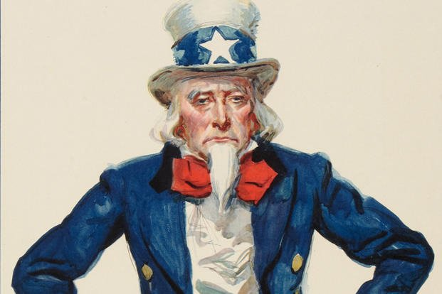 Sad Uncle Sam Doesn't Want You
