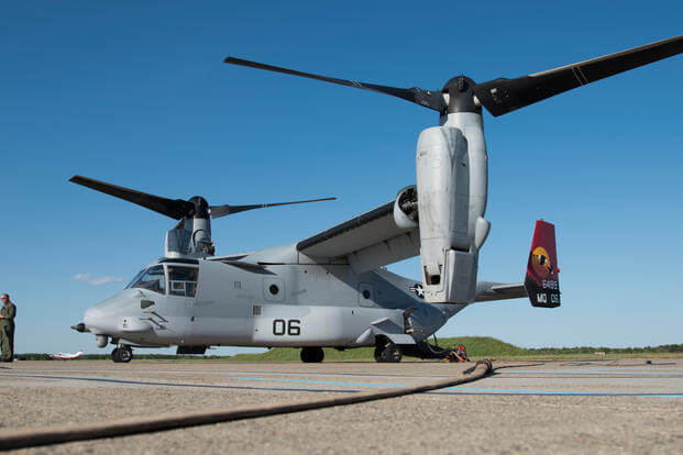 V-22 Osprey Coast Guard Air Station Atlantic City