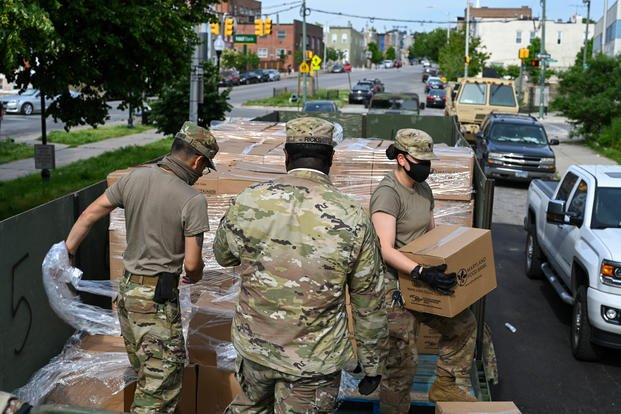 Mobilized Maryland National Guard Soldiers Miss June Paychecks Military Com