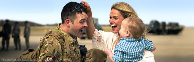 military family greeting