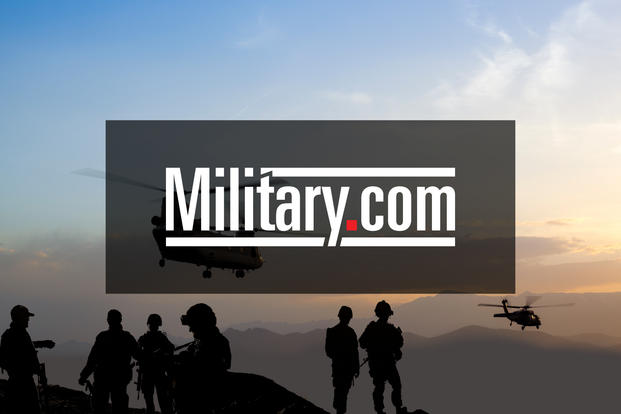 Soldiers salute during basic combat training graduation at Fort Sill.
