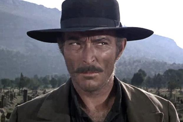 Lee Van Cleef The Good the Bad the Ugly