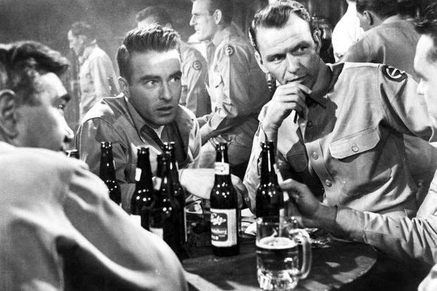Montgomery Clift Frank Sinatra From Here to Eternity