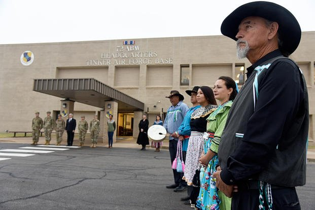 Chickasaw Nation Honor Guard 72nd Air Base Wing Headquarters