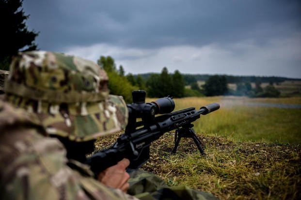 Snipers engage targets in Germany