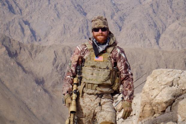 Navy SEAL Eddie Gallagher on a military deployment.