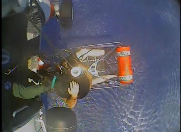 Coast Guard Rescues 3 People and a Dog...