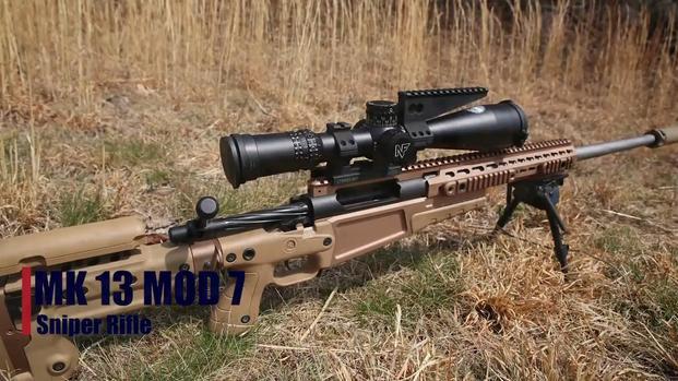 Marines Fire The Mk 13 Mod 7 Sniper Rifle Military Com