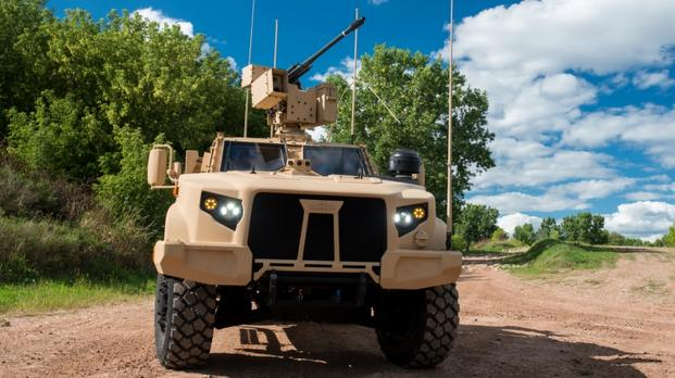oshkosh to display jltv armed with 30mm cannon. Black Bedroom Furniture Sets. Home Design Ideas