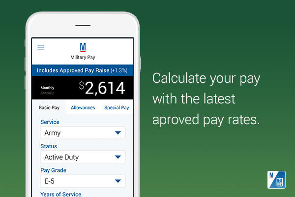 Calculate your pay with the latest approved pay rates