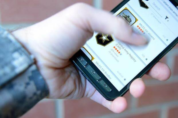 The Army Training and Doctrine Command has created a smartphone app