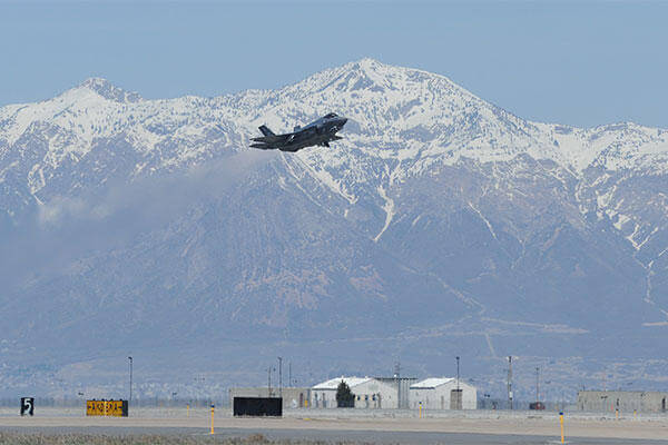 F-35A Lightning II Hill Air Force Base