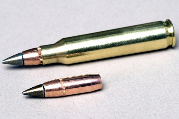 The U.S. Army's M855A1 Enhanced Performance Round. (U.S. Army photo)