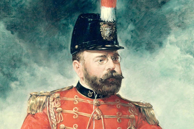 Painting of John Philip Sousa during his years as leader of the U.S. Marine Band. (Image: Library of Congress)