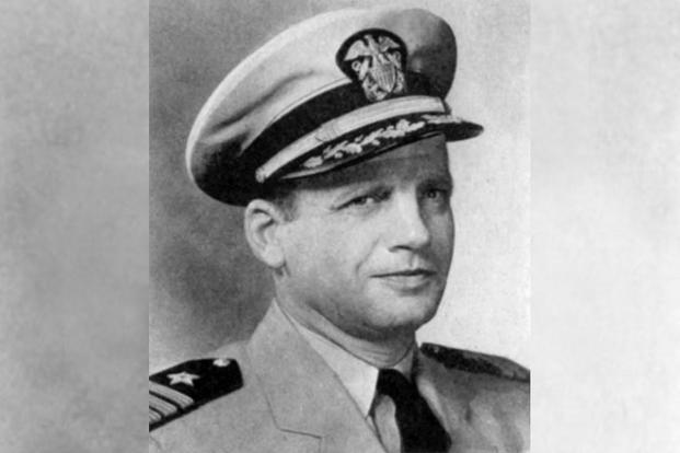 Commander Richard N. Antrim. (U.S. Naval Historical Center photo)