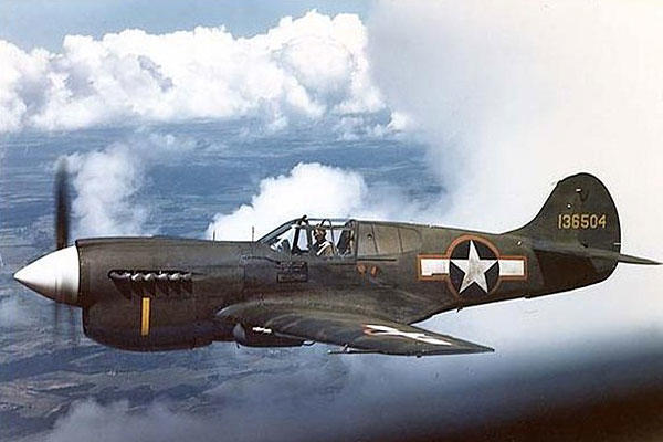 P-40 (U.S. Air Force photo)