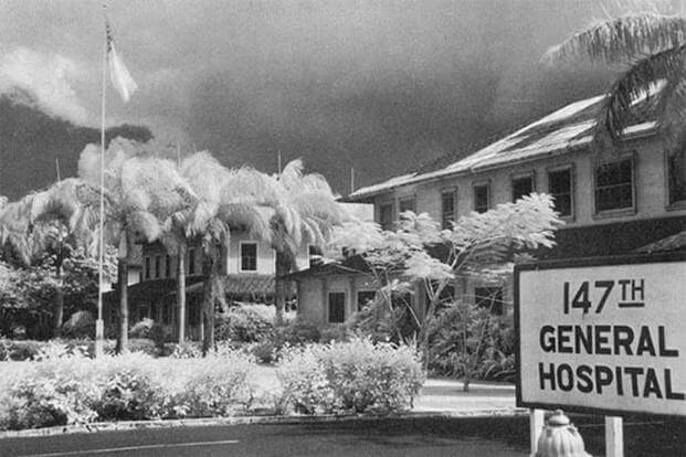 Tripler General Hospital around the time of the Dec. 7, 1941, Pearl Harbor attacks. (U.S. Army photo)