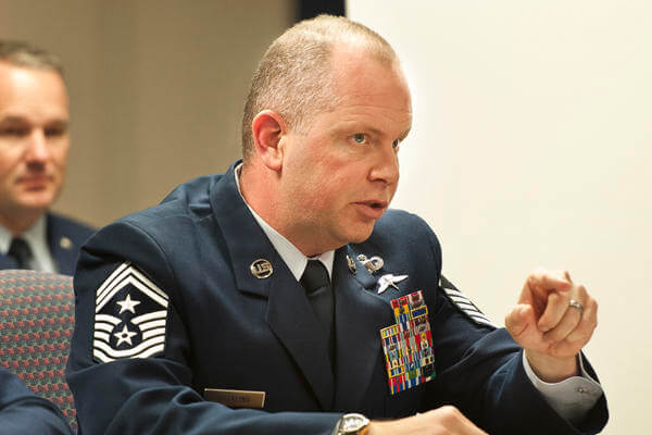 Chief Master Sgt. Hotaling