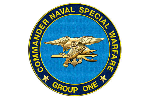Naval Special Warfare Group 1 insignia.