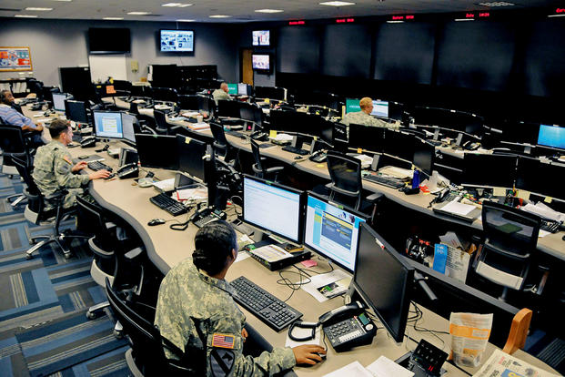 The Cyber Operations Center at Fort Gordon, Ga., home of the U.S. Army Cyber School. (US Army photo/Michael Lewis)