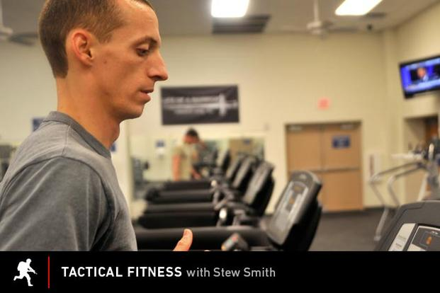 Tactical Fitness: Jogging on a Treadmill