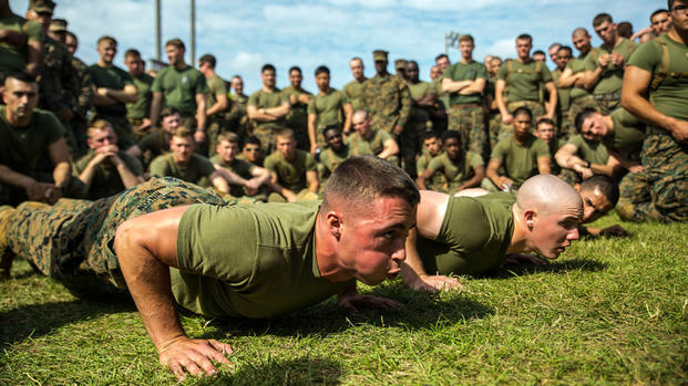 Weekly Workout Moderate Workout With Options Military Com