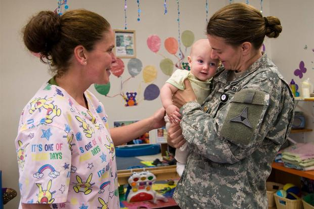 The Army is dealing with a child care backlog of over 5,500 children, which senior leaders worry could affect the readiness of military parents. (Photo Credit: U.S. Army)