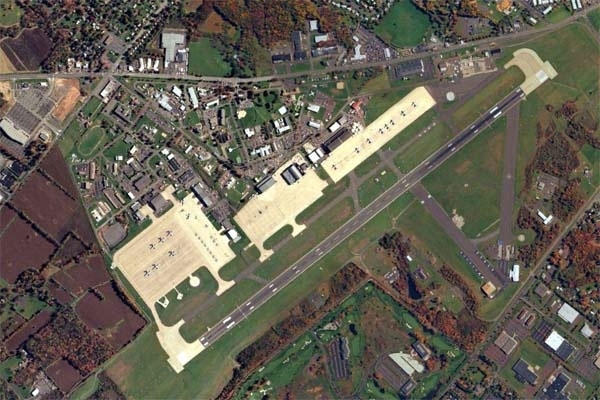 Former Naval Air Station Joint Reserve Base Willow Grove (U.S. Navy photo)