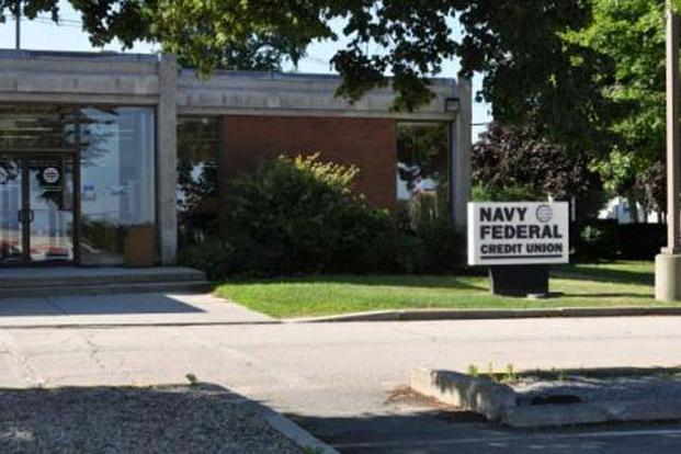 Navy Federal Credit Union on Naval Station Newport (Navy Photo)