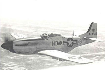 F-51D Mustang plane