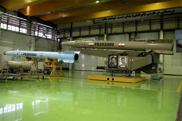 Photo released on March 5, 2014 by the Iranian Defense Ministry, purports to show missiles Fateh-110, right, and Persian Gulf in an undisclosed location in Iran.. (AP Photo/Iranian Defense Ministry)