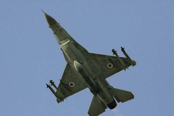 In this Sunday, July 16, 2006 file photo an Israeli F-16 warplane takes off to a mission in Lebanon from an air force base in northern Israel (AP Photo/Ariel Schalit, File)