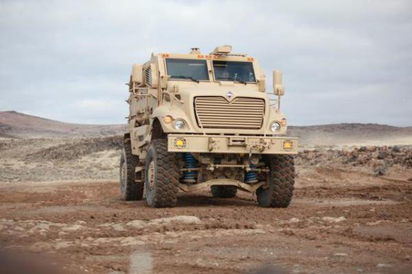 Navistar is offering its MRAP vehicle to the Army's competition to replace the M113 Troop Carrier. (Defense Department photo)