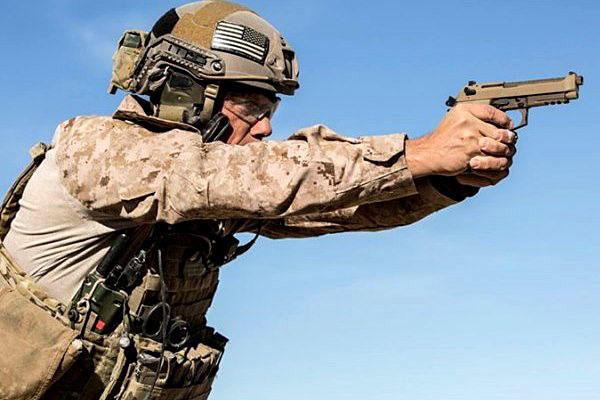 The Army decided it would not consider Beretta USA's M9A3 for the Modular Handgun System program. Photo courtesy of Beretta USA