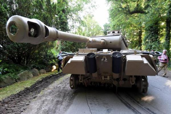 Authorities have seized a 45-ton Panther tank, a flak canon and multiple other World War II-era military weapons in a raid on a 78-year-old collector's storage facility in northern Germany.Associated Press