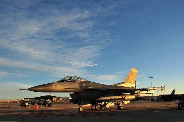 An F-16 Fighting Falcon from the 140th Wing, Colorado Air National Guard at Buckley Air Force Base. (U.S. Air Force/Tech. Sgt. Wolfram M. Stumpf)