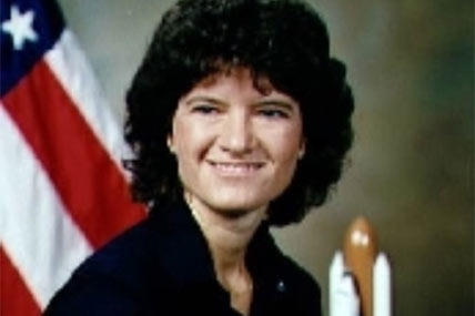 First U.S. woman in space, Sally Ride